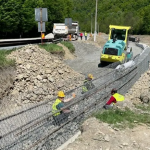 08:27 Încep lucrările la podul de la Lainici