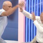 VIDEO: Bătaie între politicieni, la o televiziune din Republica Moldova