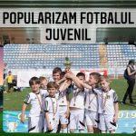 15:07 Turneu de minifotbal pentru copii, la Stadionul Municipal