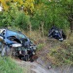 22:12 Accident mortal la Novaci. Un motociclist a decedat