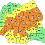 10:40 Alertă de ploi torențiale în jumătate de țară
