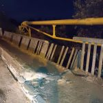 10:20 Târgu-Jiu: Pod rupt, pericol public