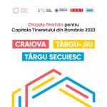 17:38 Târgu-Jiu, Craiova şi Târgu Secuiesc - în finala pentru Capitala Tineretului din România 2023