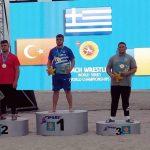 Eduard Popescu, BRONZ la Campionatul Mondial de Lupte pe Plajă