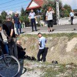 16:24 Motociclist francez, rănit într-un accident la Bălești