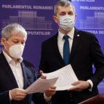 20:42 USR-PLUS a depus moţiunea de cenzură. Barna: Ne vom depune demisiile