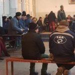 Minerii ies în stradă. Protest cu 1000 de oameni la Târgu-Jiu