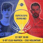 11:10 Supercupa României, ora 18.00, Sala Sporturilor