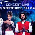 Juraţii SuperStar România fac spectacol pe mainstage-ul UNTOLD 2021