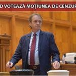 19:06 Weber: Moţiunea de cenzură va fi votată de PSD