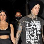 Kourtney Kardashian s-a logodit cu bateristul Travis Barker