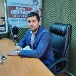 Interviurile Infinit FM din data de 1 octombrie 2021. Invitat: Deputatul Radu Miruță, președinte USR-PLUS Gorj