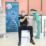 19:49 Klaus Iohannis și-a făcut a treia doză de vaccin anti-COVID